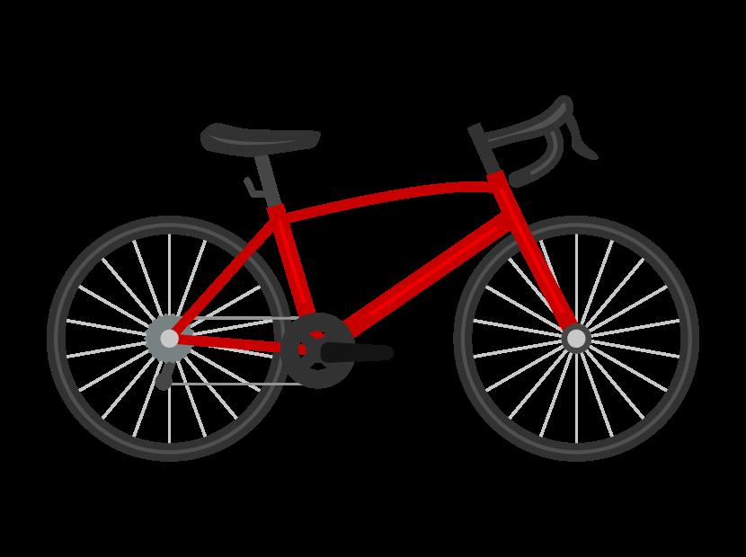ロードバイク(自転車)のイラスト