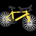 ロードバイク(自転車)のイラスト02