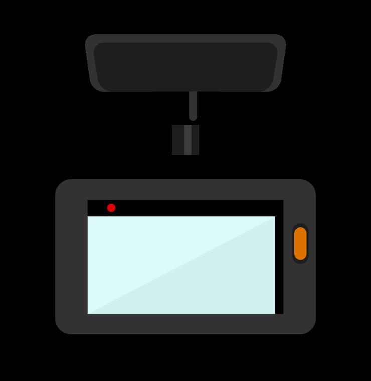 ドライブレコーダーのイラスト02