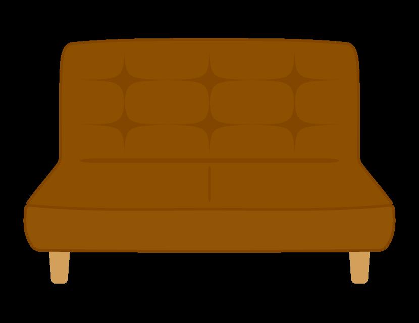 小さなソファーのイラスト