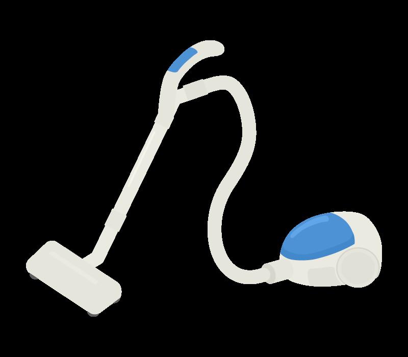 掃除機のイラスト