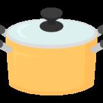 キッチン・お鍋のイラスト