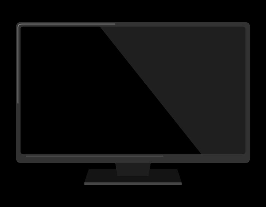 大型テレビのイラスト