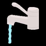 水道(シングルレバー)・蛇口のイラスト