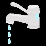 水道・水漏れのトラブルのイラスト