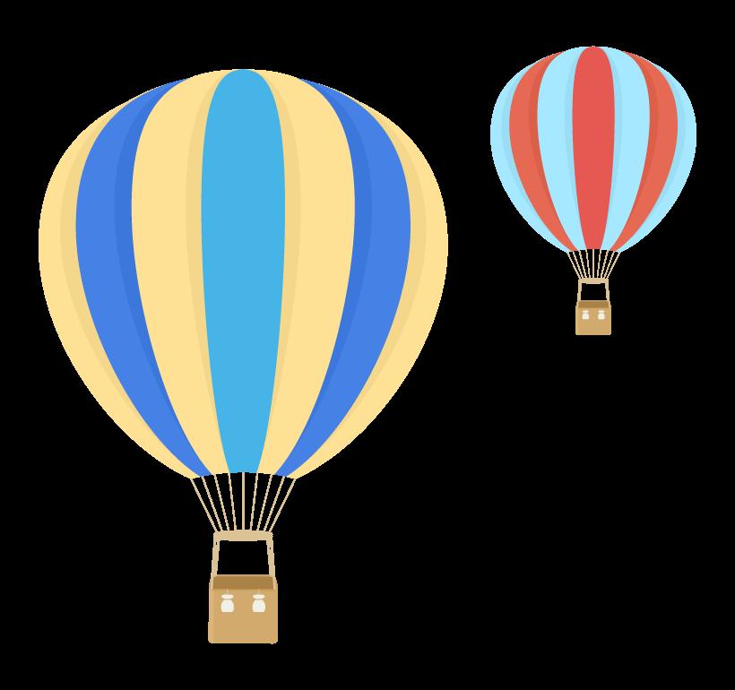 気球のイラスト