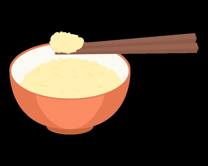 卵かけご飯のイラスト02