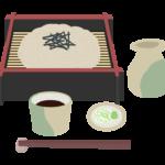 ざる蕎麦(そば)のイラスト02