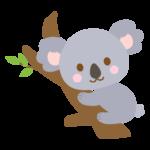 かわいいコアラのイラスト