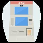 銀行のATMのイラスト02