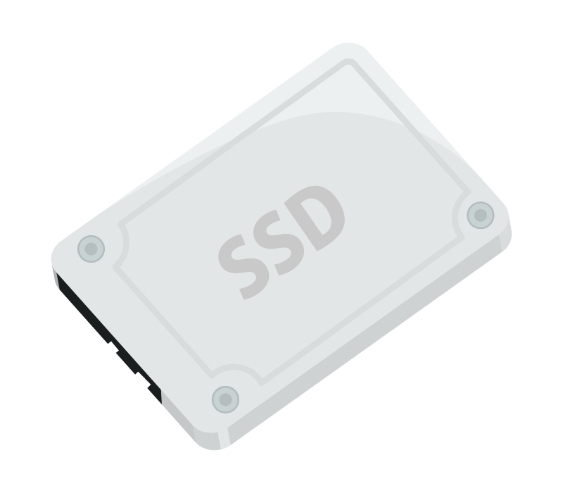 SSDのイラスト