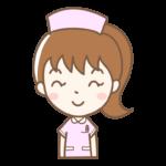 笑顔の看護師さんのイラスト
