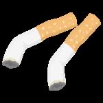 タバコの吸い殻のイラスト