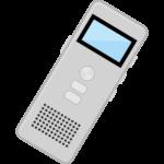 ICレコーダー・ボイスレコーダーのイラスト