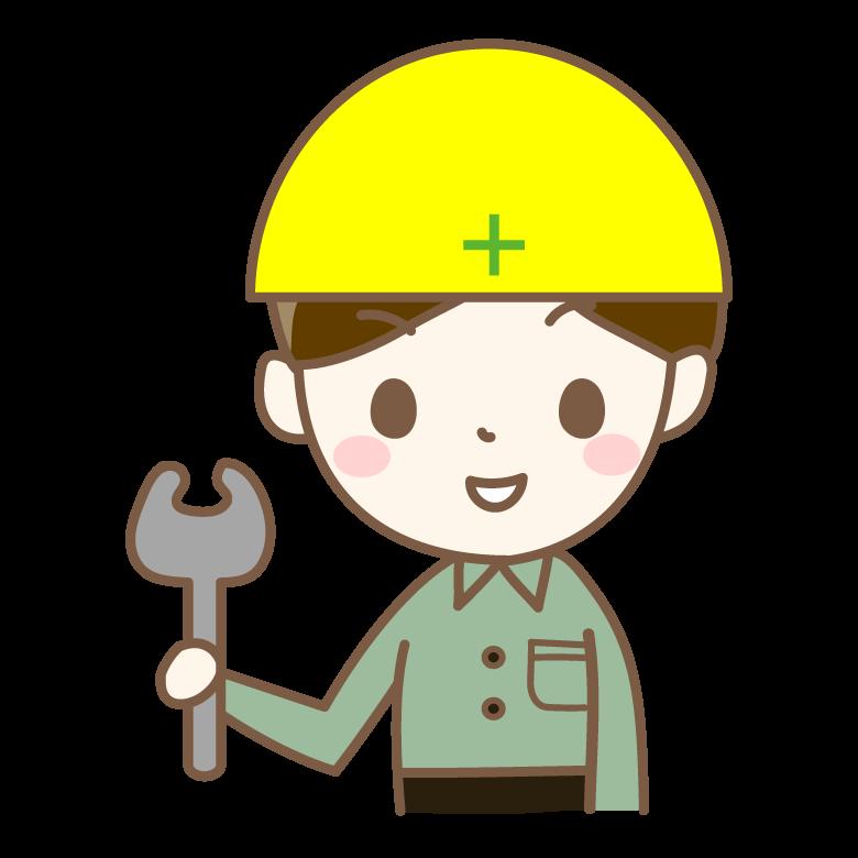工事作業員のイラスト