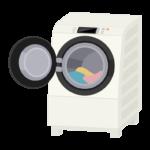 ドラム式洗濯機のイラスト02