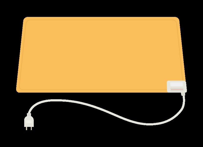 電気カーペットのイラスト