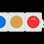 交通・信号機のイラスト