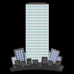 高層ビル・街並みのイラスト