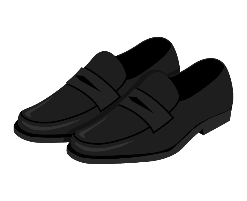 革靴(ビジネスシューズ)のイラスト