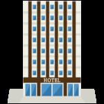 ビジネスホテルのイラスト