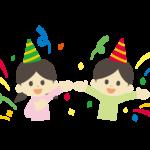 パーティーやお誕生日会のイラスト