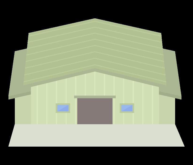 倉庫・工場のイラスト