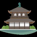 銀閣寺のイラスト
