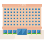ホテルのイラスト