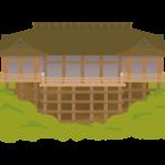清水寺のイラスト