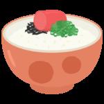 明太子ご飯のイラスト02