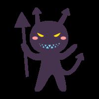 虫歯菌のキャラクターのイラスト02
