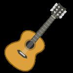 クラシックギターのイラスト