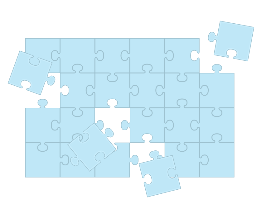 パズルのイラスト
