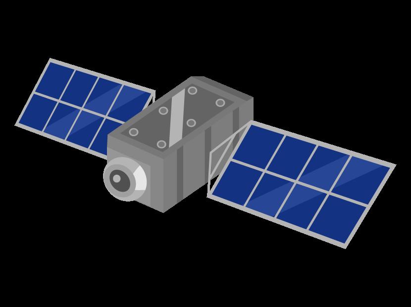 人工衛星のイラスト02
