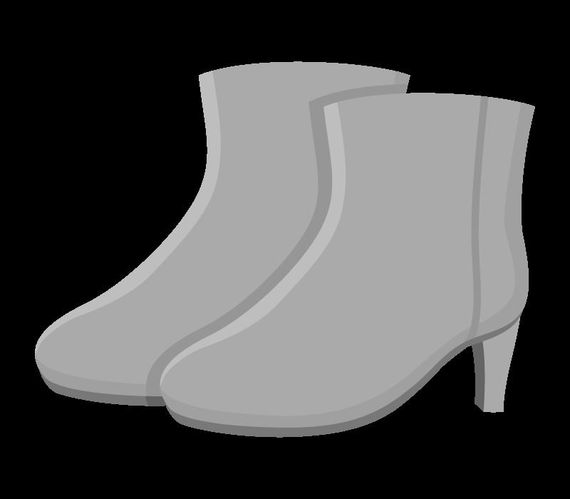 ショートブーツのイラスト