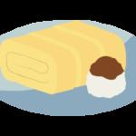 厚焼き玉子のイラスト