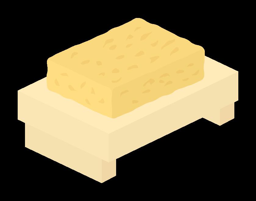 厚焼き玉子のイラスト02