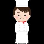 洋食のシェフのイラスト