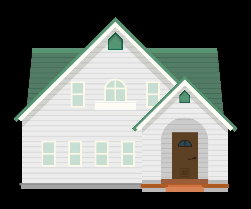 お家・輸入住宅のイラスト