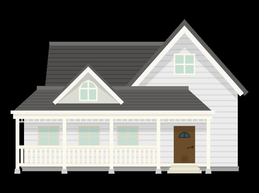 お家・輸入住宅のイラスト02