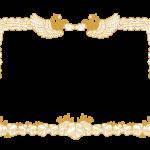 賞状の枠(フレーム)のイラスト
