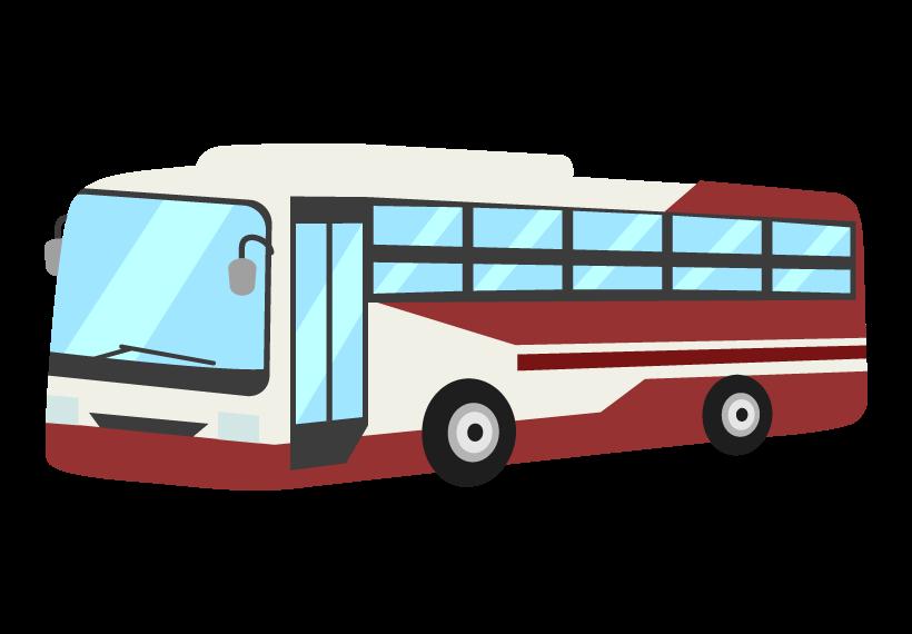 高速バスのイラスト02