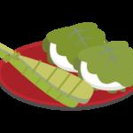 端午の節句・柏餅とちまきのイラスト