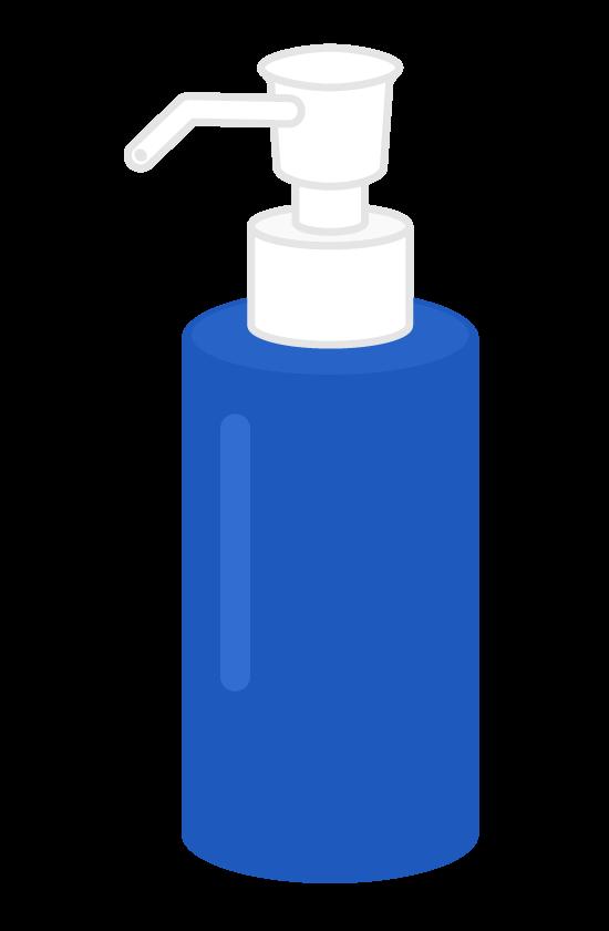 ポンプボトルのイラスト