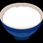ご飯・白飯のイラスト