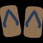 雪駄・草履のイラスト02