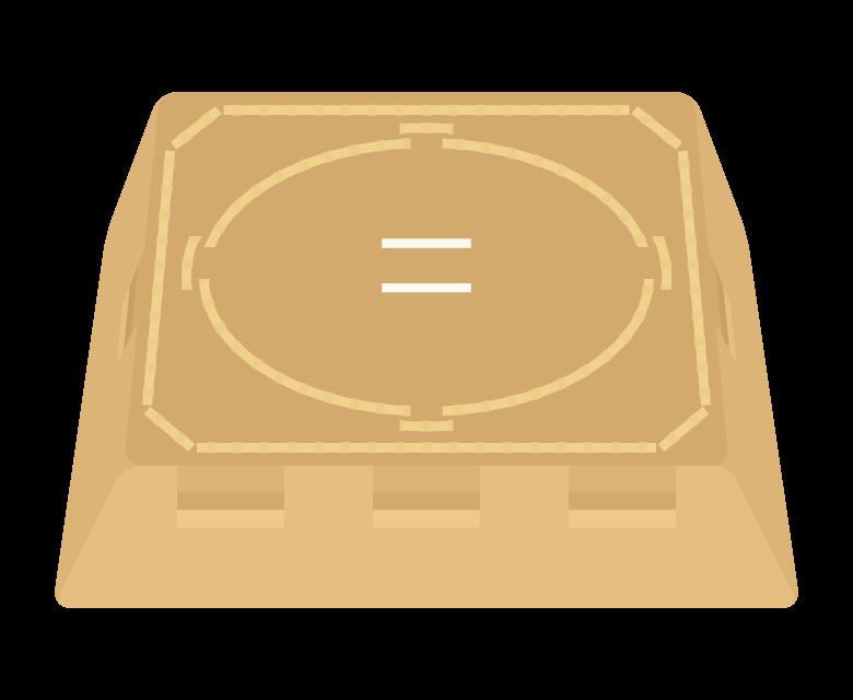 土俵のイラスト
