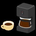 コーヒーメーカーのイラスト