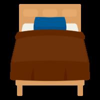 ベッドのイラスト02